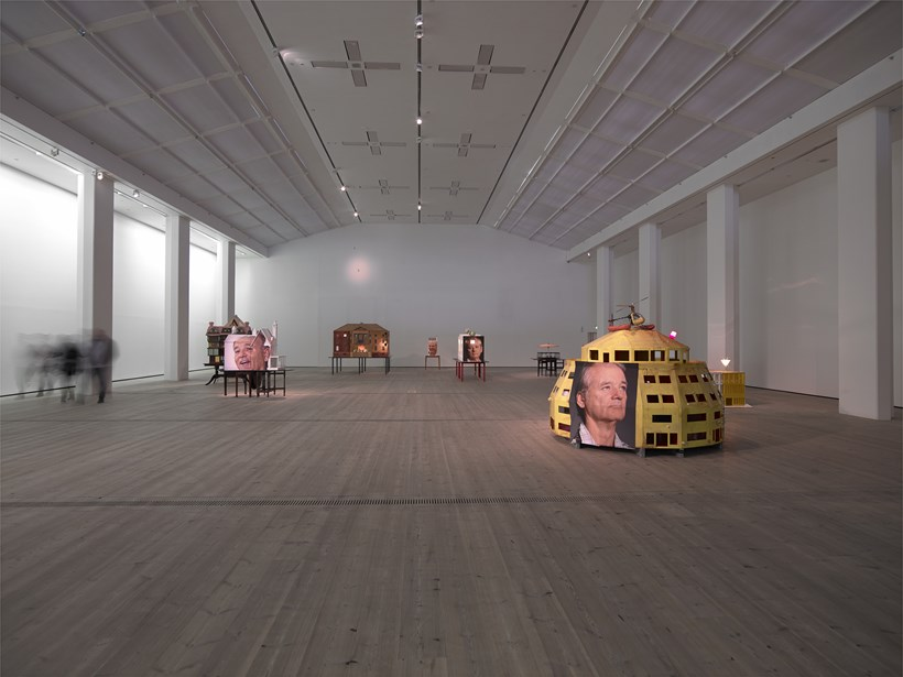 Brian Griffiths: BILL MURRAY: a story of distance, size and sincerity, 2015: Installation view (02)