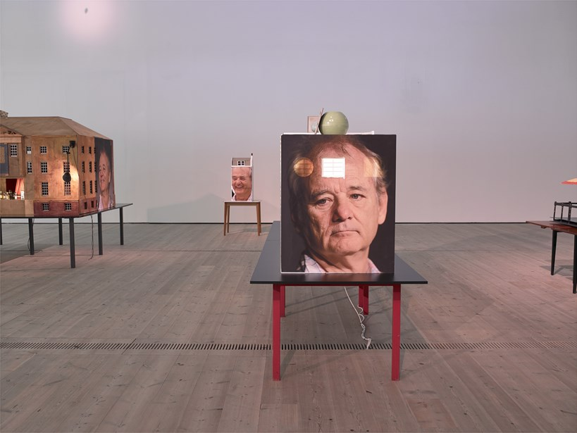 Brian Griffiths: BILL MURRAY: a story of distance, size and sincerity, 2015: Installation view (04)