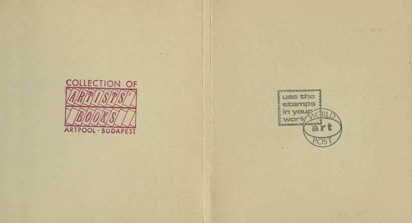 Stamp + Rubber Stamp: Works by Hungarian Artists