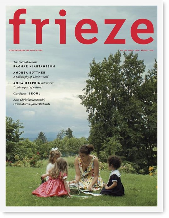 Frieze - Issue 180 - June/July/August 2016
