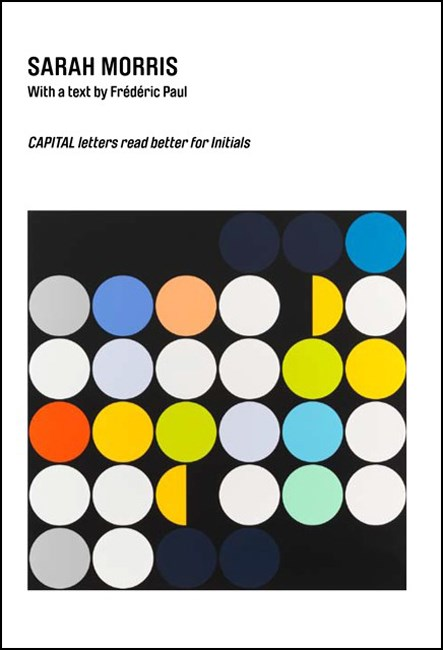 Sarah Morris: CAPITAL letters read better for Initials