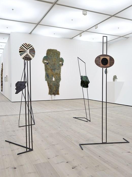 Caroline Achaintre: Installation View (01)
