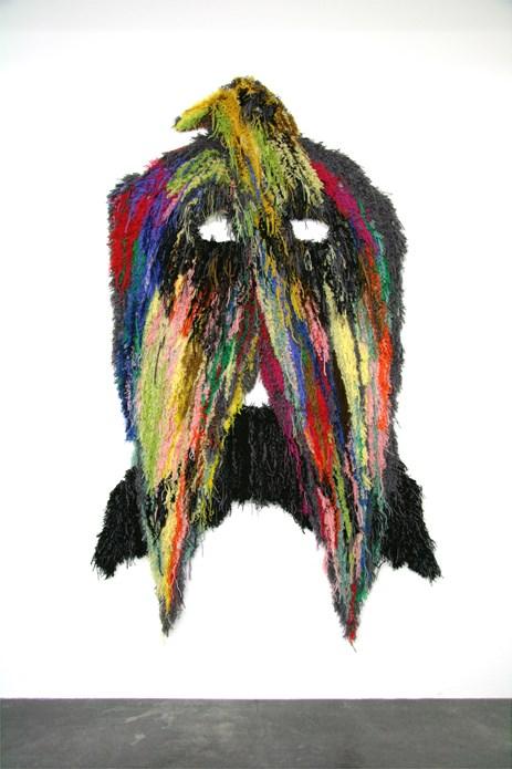 Caroline Achaintre: Moustache Eagle
