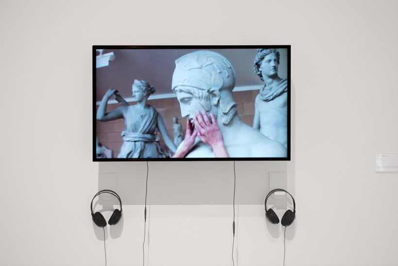 Jumana Emil Abboud: I Feel Nothing (2013) Installation view