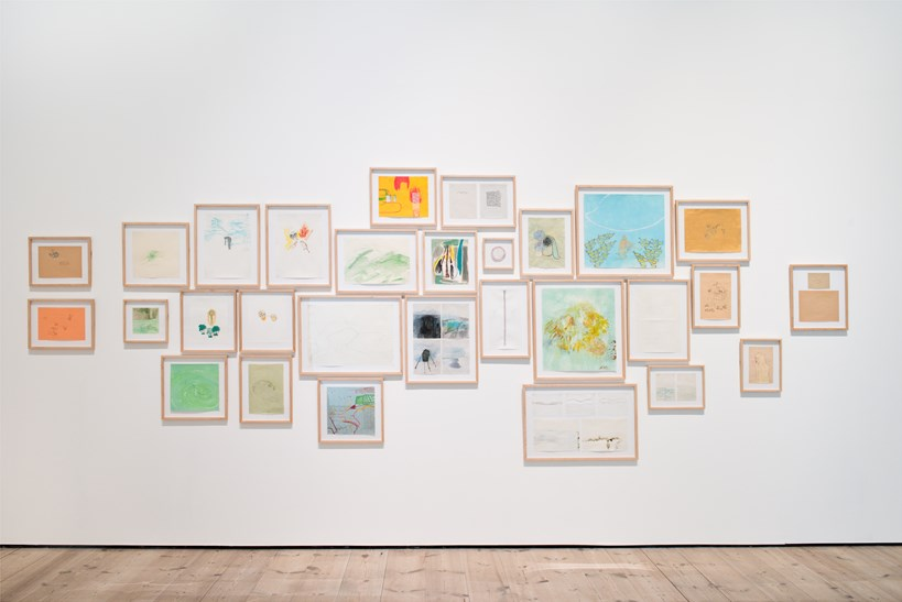Jumana Emil Abboud: Ballad of the Lady Who Lives Behind Trees (2005-14) Installation View