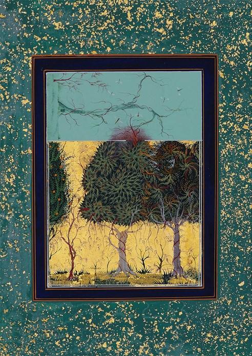 Imran Qureshi: Where the Shadows are so Deep