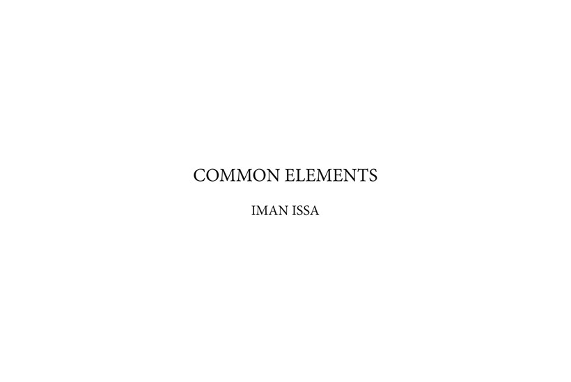 Iman Issa: Common Elements