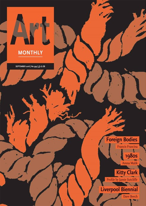 Art Monthly - No 399 - September 2016