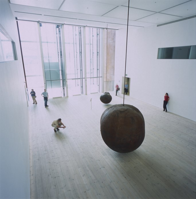 Antony Gormley: Body and Fruit (Installation view, Level 2 at BALTIC)