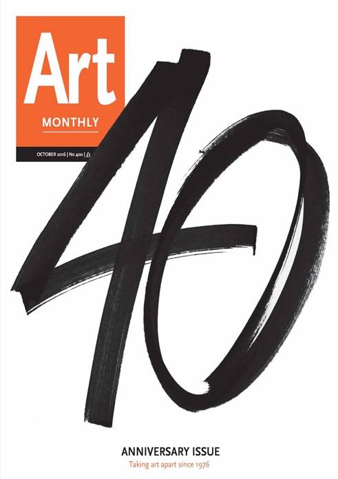 Art Monthly - No 400 - October 2016