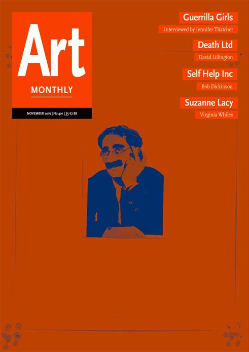 Art Monthly - No 401 - November 2016