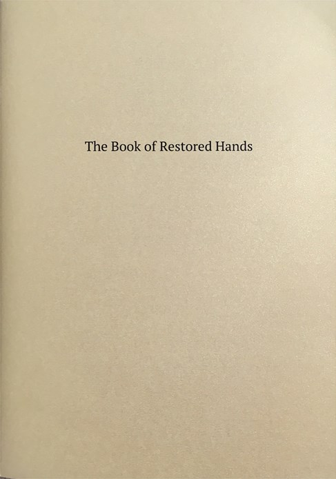 Jumana Emil Abboud: The Book of Restored Hands