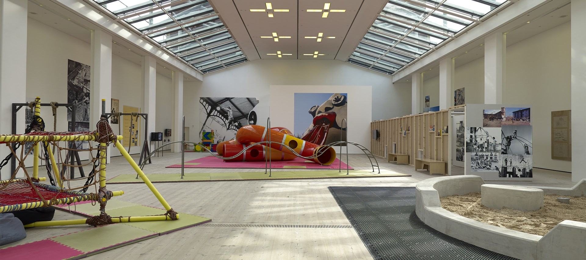 The Playground Project: Installation view by John McKenzie. © BALTIC 2016