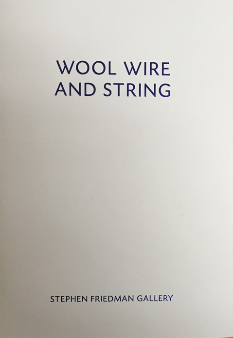 Wool Wire and String
