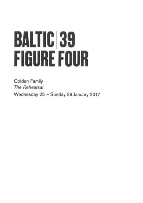 BALTIC 39 | FIGURE FOUR - Week 2: Golden Family