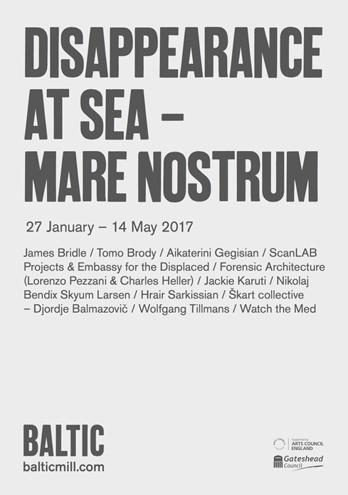Disappearance at Sea – Mare Nostrum: Exhibition Map