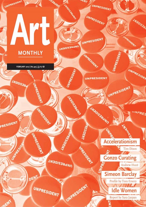 Art Monthly - No 403 - February 2017