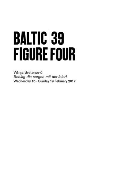 BALTIC 39 | FIGURE FOUR: Week 5: Višnja Sretenović