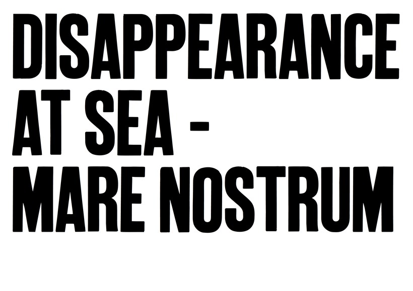 Disappearance at Sea – Mare Nostrum: Learning/Teaching Resource