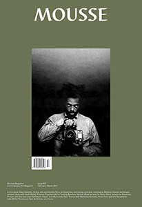 Mousse: Contemporary Art Magazine - Issue 57 - February-March 2017