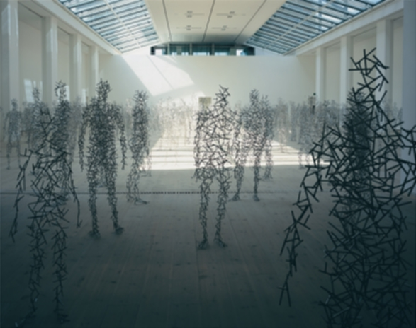 Antony Gormley: Domain Field; Allotment; Body, Fruit, Earth