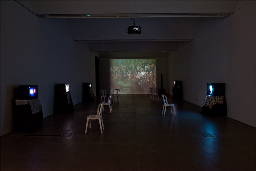 FIGURE FOUR - Week 5: Višnja Sretenović: Installation view (01)