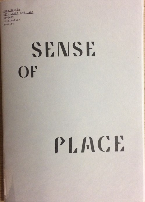 Jose Davila: Sense of Place