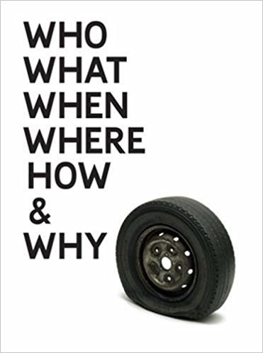 Gavin Turk: Who What When Where How and Why