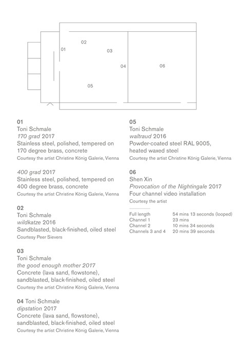 BALTIC Artists' Award 2017: Level 3 Floor Plan