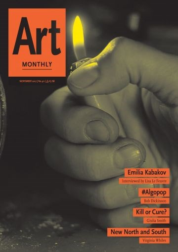 Art Monthly - No 411 - November 2017