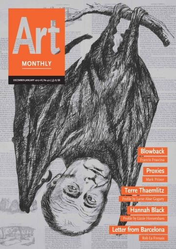 Art Monthly - No 412 - December 2017-January 2018