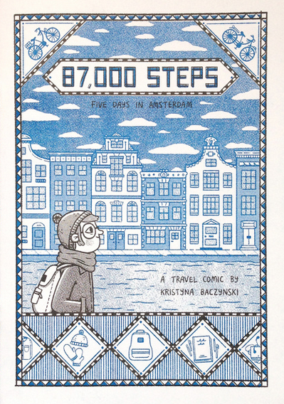Kristyna Baczynski: 87,000 Steps: Five Days in Amsterdam