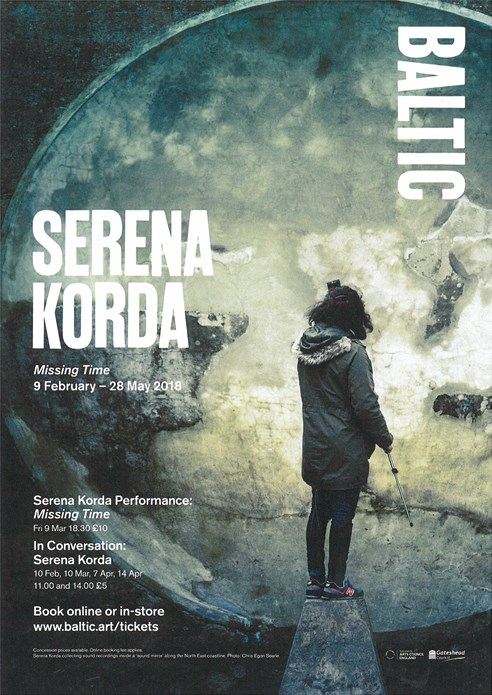 Serena Korda: Missing Time: Events Leaflet