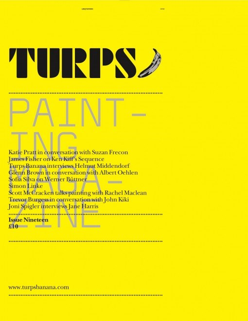 Turps Banana - Painting Magazine - Issue 19