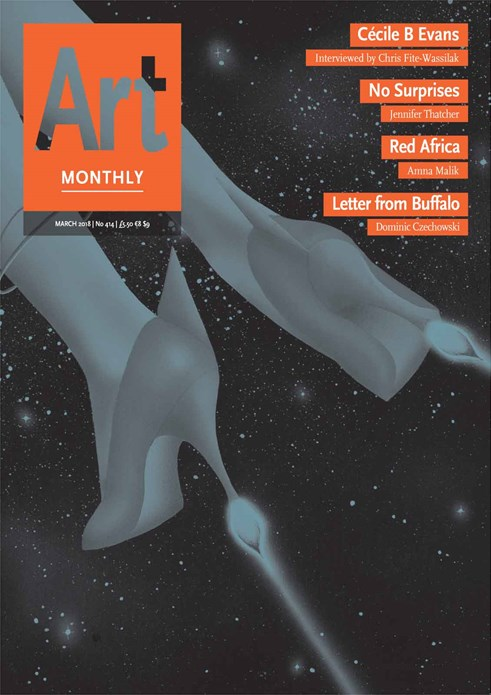 Art Monthly - No 414 - March 2018