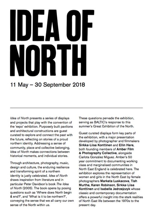 Idea of North: Interpretation Guide