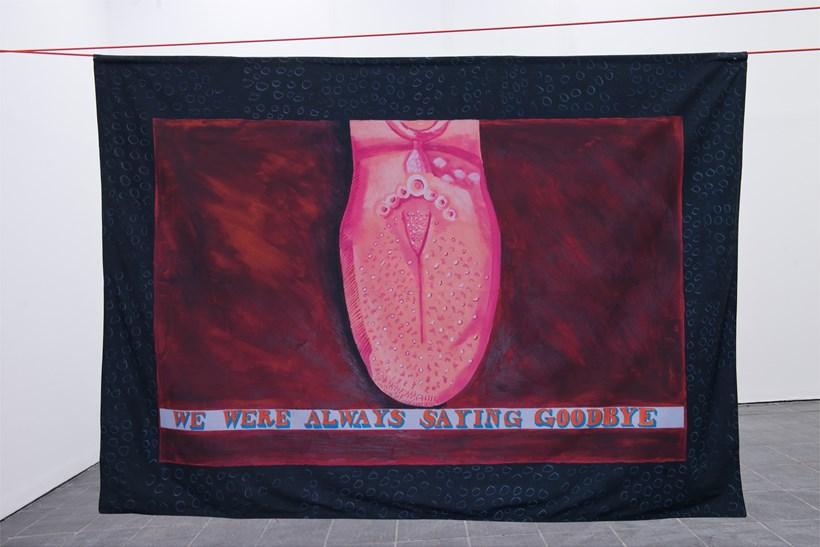 Lubaina Himid: Our Kisses are Petals (03)