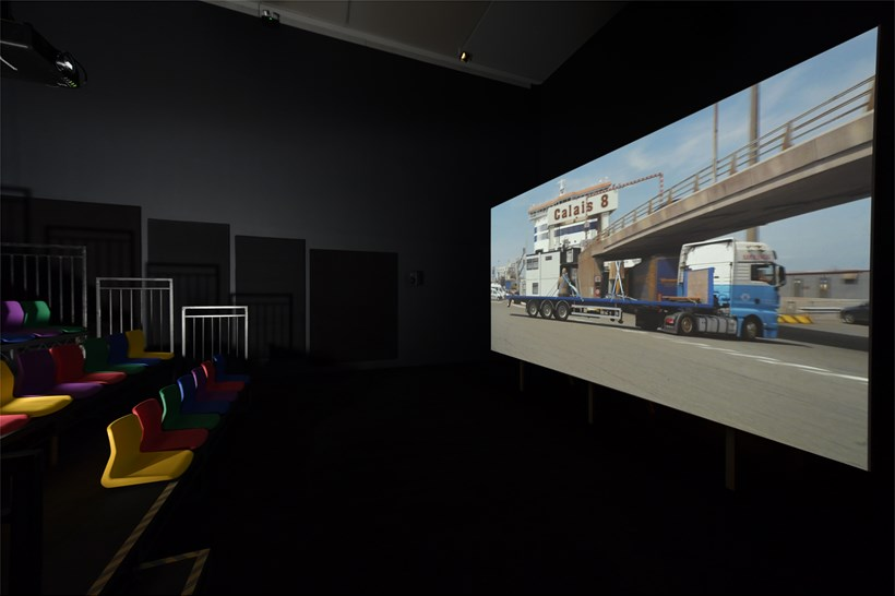 Phil Collins: Ceremony: Installation view (01)
