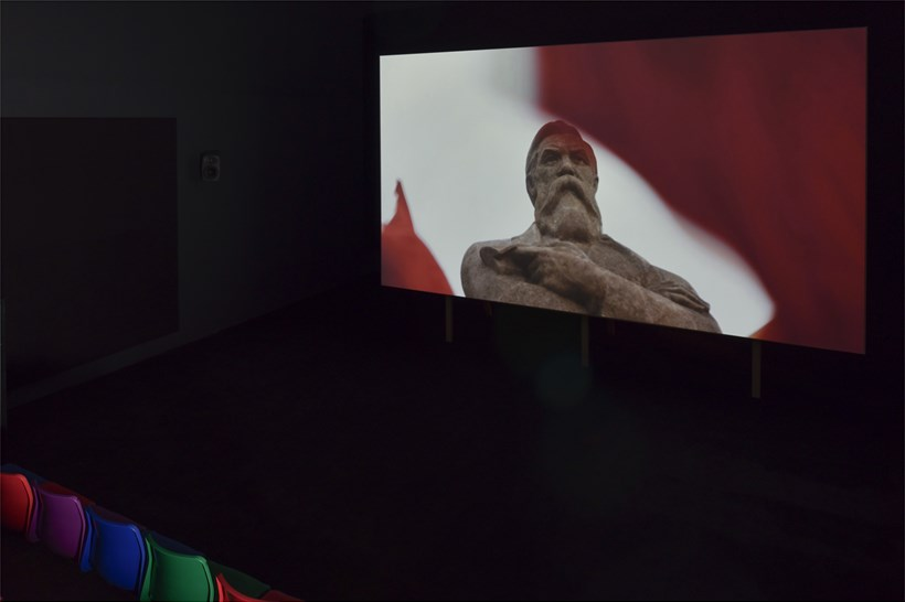 Phil Collins: Ceremony: Installation view (04)