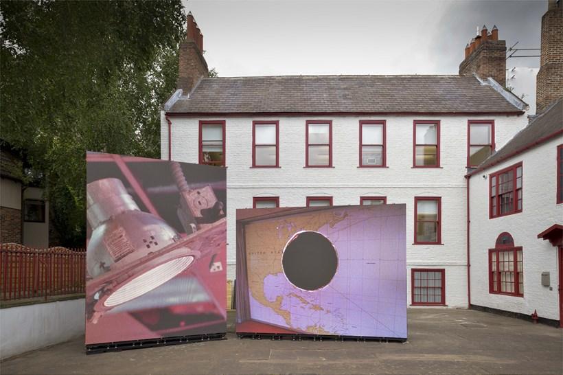 Jane & Louise Wilson: Suspended Island: Installation View (02)