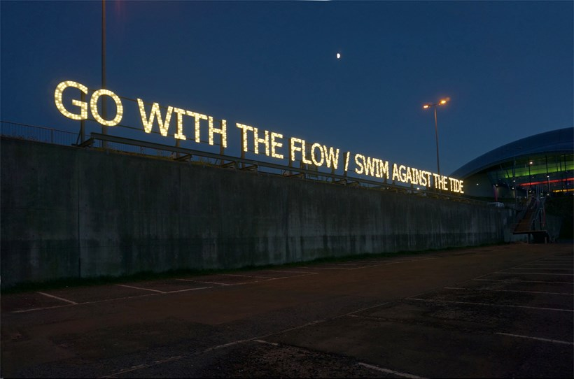 Tim Etchells: With/Against: Installation View (01)
