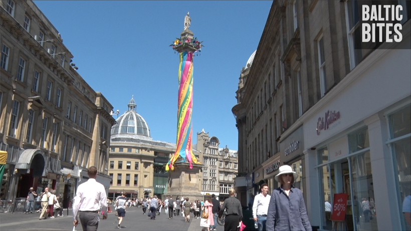 BALTIC Bites: Zoe Walker & Neil Bromwich: Worker's Maypole