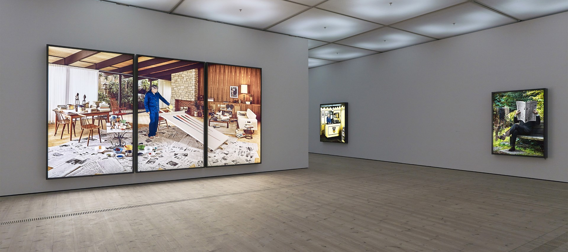 Rodney Graham: That's Not Me: Installation view. Image credit: John Mckenzie © BALTIC