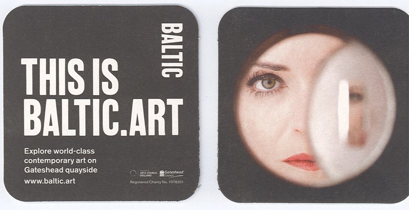 Jasmina Cibic / THIS IS BALTIC.ART: Beer Mat