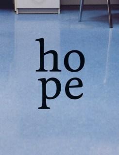 Sarah Hildebrand: Hope