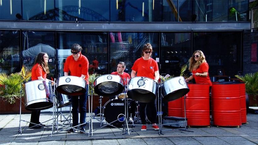 Raising the Flag – Week 12: North Tyneside Steel Band