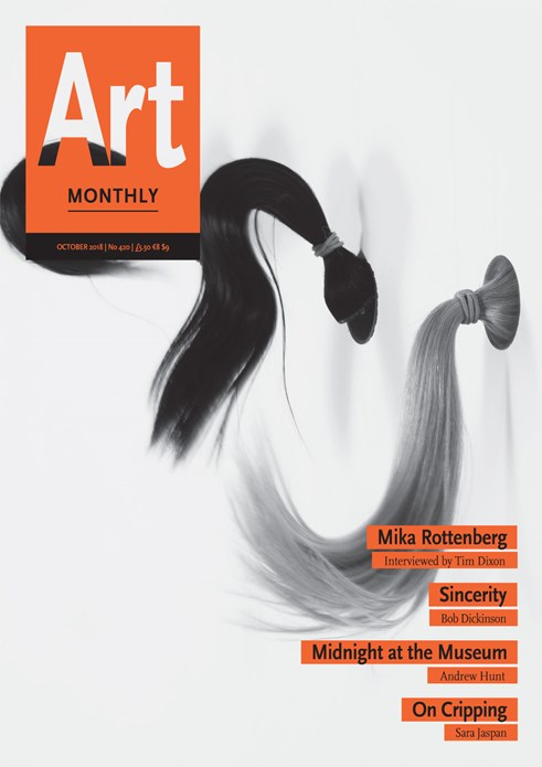 Art Monthly - No 420 - October 2018