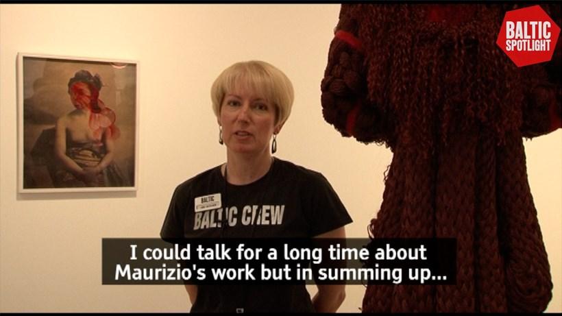 BALTIC Spotlight: Maurizio Anzeri (subtitled)