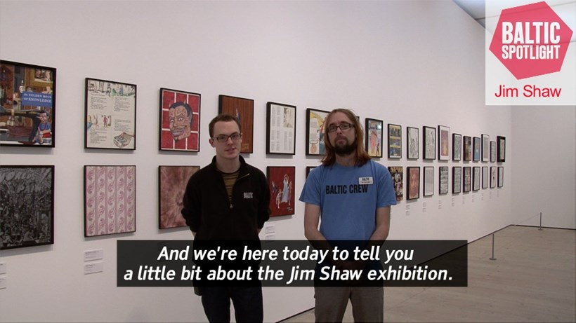 BALTIC Spotlight: Jim Shaw (subtitled)
