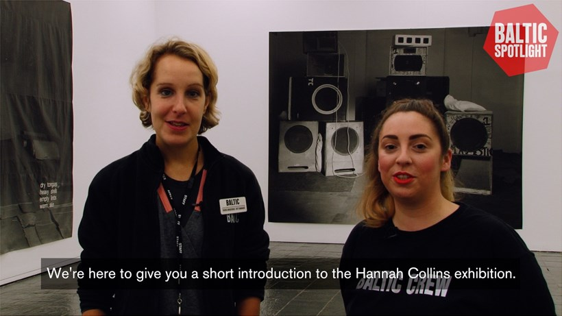 BALTIC Spotlight: Hannah Collins (subtitled)